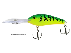 Rapala - Down Deep Rattlin Fat Rap DRFR07 - FIRE TIGER - Floating Crankbait | Eastackle