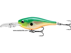 Rapala - Glass Shad Rap GSR04 - GLASS CITRUS SHAD - Suspending Minnow | Eastackle