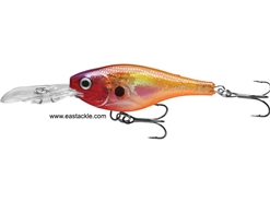 Rapala - Glass Shad Rap GSR04 - GLASS PURPLE SUNFIRE - Suspending Minnow | Eastackle