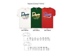 Rapala - GROOVY Series T-Shirt - WHITE - L | Eastackle