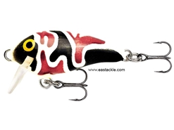 Rapala - Mini Fat Rap MFR03 - CAMO BLACK - Sinking Crankbait | Eastackle