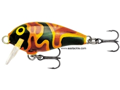 Rapala - Mini Fat Rap MFR03 - CAMO GREEN YELLOW - Sinking Crankbait | Eastackle