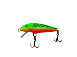 Rapala - Original Floating F05 - FIRE TIGER - Floating Minnow | Eastackle