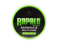 Rapala - Rapinova-X Multi-Game - 13.9lbs - 150m - Braided PE Fishing Line | Eastackle