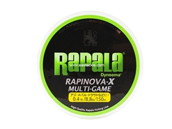 Rapala - Rapinova-X Multi-Game - 8.8lbs - 150m - Braided PE Fishing Line | Eastackle
