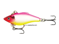 Rapala - Rattlin Rap RNR04 - SILVER HOT PINK - Sinking Lipless Crankbait | Eastackle