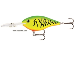 Rapala - Risto Rap 08 - FIRE TIGER - Floating Crankbait | Eastackle