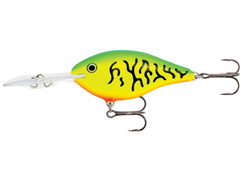 Rapala - Risto Rap 09 - FIRE TIGER - Floating Crankbait | Eastackle
