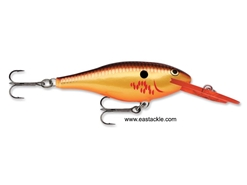 Rapala - Shad Rap Deep Runner SR04 - BLEEDING COPPER FLASH - Floating Minnow | Eastackle