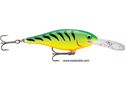 Rapala - Shad Rap Deep Runner SR04 - FIRE TIGER - Floating Minnow | Eastackle