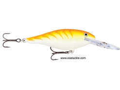 Rapala - Shad Rap Deep Runner SR04 - ORANGE TIGER UV - Floating Minnow | Eastackle