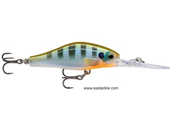 Rapala - Shadow Rap Jack Deep SDRJD05 - BLUEGILL - Floating Crankbait | Eastackle
