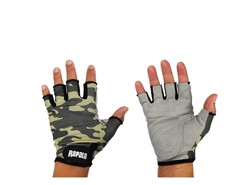 Rapala - Tactical Casting Gloves - CAMO - S/M | Eastackle