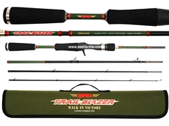 Rapala - Trail Blazer - TBC644LF - 4 Piece Travel Bait Casting Rod | Eastackle