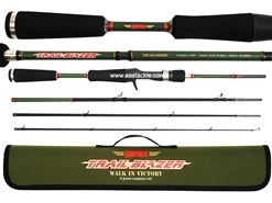 Rapala - Trail Blazer - TBC664MHRF - 4 Piece Travel Bait Casting Rod | Eastackle