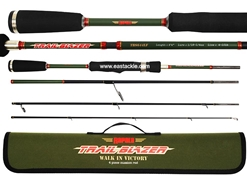 Rapala - Trail Blazer - TBS644LF -  4 Piece Travel Spinning Rod | Eastackle