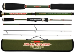 Rapala - Trail Blazer - TBS664MHRF - 4 Piece Travel Spinning Rod | Eastackle