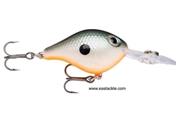 Rapala - Ultra Light Crank ULC03 - ORANGE SHAD - Floating Crankbait | Eastackle