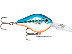 Rapala - Ultra Light Crank ULC03 - SILVER BLUE - Floating Crankbait | Eastackle