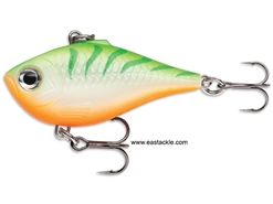 Rapala - Ultra Light Rippin Rap ULRPR04 - GREEN TIGER UV - Sinking Lipless Crankbait | Eastackle