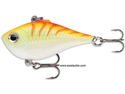 Rapala - Ultra Light Rippin Rap ULRPR04 - ORANGE TIGER UV - Sinking Lipless Crankbait | Eastackle