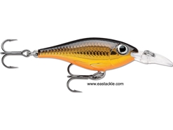 Rapala - Ultra Light Shad ULS04 - GOLD - Sinking Minnow | Eastackle