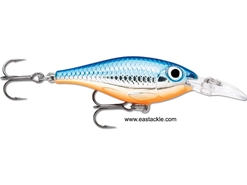 Rapala - Ultra Light Shad ULS04 - SILVER BLUE - Sinking Minnow | Eastackle