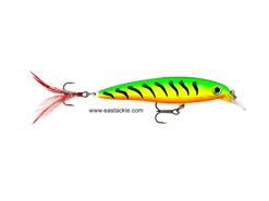 Rapala - X-Rap XR04 - FIGER TIGER UV - Suspending Minnow | Eastackle