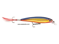 Rapala - X-Rap XR08 - HOT STEEL - Suspending Minnow | Eastackle