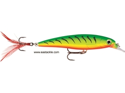 Rapala - X-Rap XR10 - FIRETIGER UV - GLASS GHOST - Suspending Minnow | Eastackle