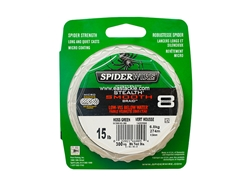 SpiderWire - Stealth Smooth 8 Carrier MOSS GREEN 300yards - 15LB - Braided/PE Line | Eastackle