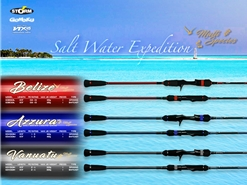 Storm - 2018 Gomoku Saltwater Expedition Jigging Game - AZZURRA - PE1-3 Spinning Rod | Eastackle