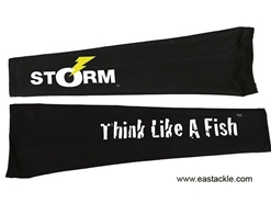 Storm - 2018 UV Fishing Arm Sleeves - THINK LIKE A FISH - L | Eastackle