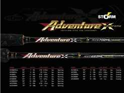 Storm - 2019 Adventure Xtreme - AXS662MH - Spinning Rod | Eastackle