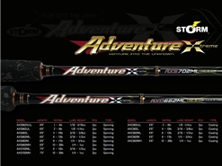 Storm - 2019 Adventure Xtreme - AXS662ML - Spinning Rod | Eastackle