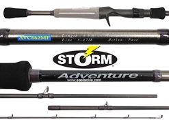 Storm - Adventure - AVC662MF - Bait Casting Rod | Eastackle