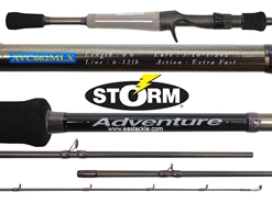 Storm - Adventure - AVC662MLX - Bait Casting Rod | Eastackle
