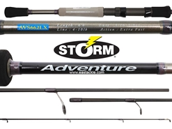 Storm - Adventure - AVS662LX - Spinning Rod | Eastackle