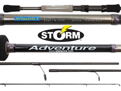 Storm - Adventure - AVS662MLX - Spinning Rod | Eastackle