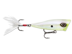 Storm - Arashi Cover Pop 08 - GHOST CHARTREUSE SHAD - Floating Popper | Eastackle