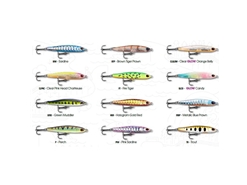 Storm - Gomoku Flutter Slim GFLS95 - CLEAR GLOW ORANGE BELLY - Sinking Finesse Pencil Bait
