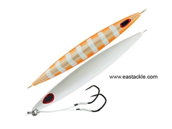 Storm - Gomoku Kensaki 220grams - ORANGE ZEBRA / PEARL - Slow Pitch Metal Jigs | Eastackle