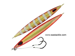 Storm - Gomoku Kensaki 280grams - HOLO GOLD RED ZEBRA - Slow Pitch Metal Jigs | Eastackle
