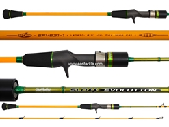 Storm - Gomoku Slo4 Evolution - SFV631-1 - Overhead Slow Fall Jigging Rod | Eastackle
