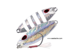 Storm - Gomoku Slow Rocker 40 Grams - UV NAKED FLASH ZEBRA - Slow Pitch Metal Jig | Eastackle