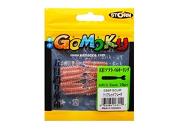 Storm - Gomoku Soft Bulky Ring GSBR15 - 1.5in - CLRF - Micro Soft Plastic Swim Bait | Eastackle
