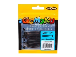Storm - Gomoku Soft Minnow GSMN18 - 1.8in - BKRF - Micro Soft Plastic Swim Bait | Eastackle