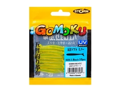 Storm - Gomoku Soft Minnow GSMN18 - 1.8in - UVCC - Micro Soft Plastic Swim Bait | Eastackle