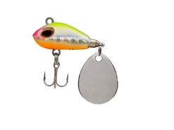 Storm - Gomoku Spin GSP06 - HOLOGRAM PINK HEAD CHARTREUSE - Sinking Finesse Spin Tail Jig | Eastackle