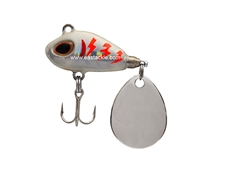 Storm - Gomoku Spin GSP06 - SILVER CONSTANT GUIGO - Sinking Finesse Spin Tail Jig | Eastackle